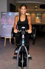 TISHA MERRY at VIP Rhythm Gym Launch in Manchester 06/24/2019