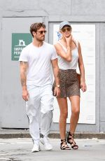 TONI GARRN and Alex Pettyfer Out in Milan 06/15/2019