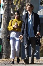 VANESSA HUDGENS and Austin Butler Out for Coffee in Studio City 06/14/2019