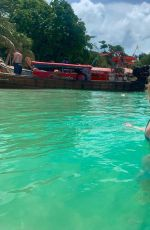 WILLOW SHIELDS in Bikini at a Beach in Phi Phi Island - Instagram Pictures, June 2019
