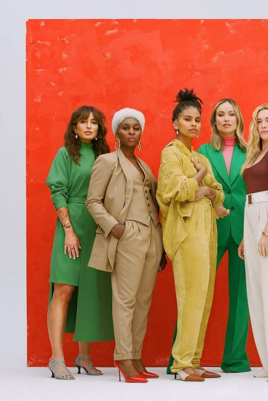 ZAZIE BEETZ, OLIVIA WILDE, CYNTHIA ERIVO, ISABELA MONER, FLORENCE PUGH and REED MORANO in Women in Hollywood 2019 - Edit by Net-a-porter, June 2019