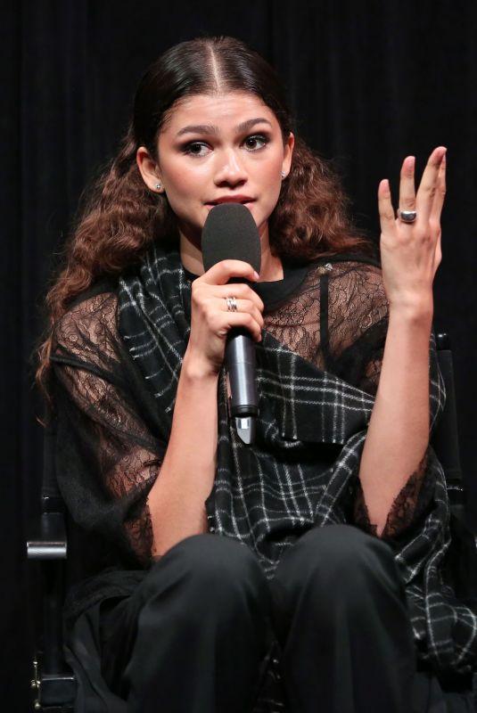 ZENDAYA COLEMAN at Euphoria Screening and Panel in New York 06/14/2019