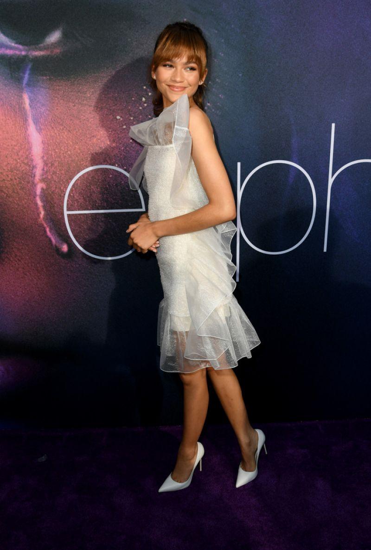 Zendaya Coleman At Euphoria Season 1 Premiere In Los