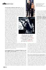 ZOE KRAVITZ in Elle Magazine, Italy June 2019