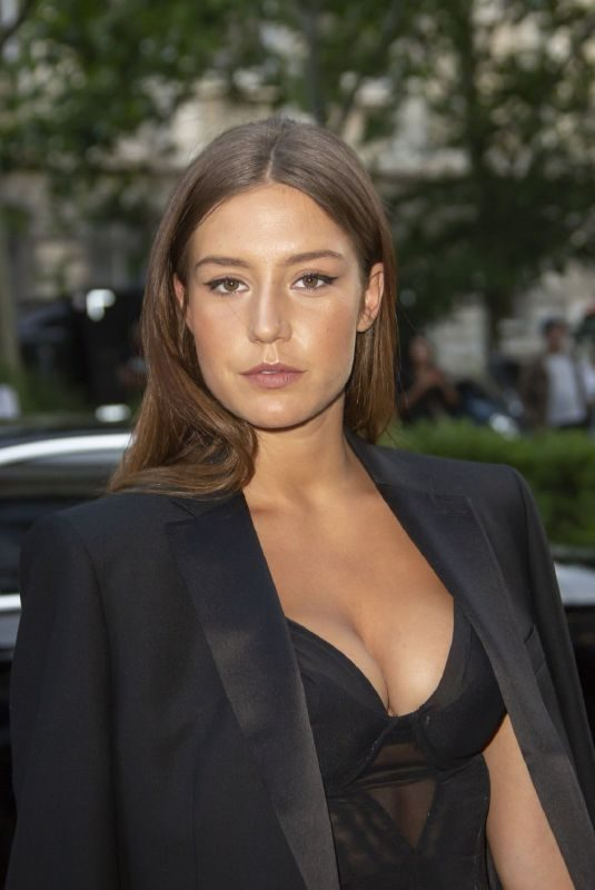 ADELE EXARCHOPOULOS at Vogue Dinner Party in Paris 07/02/2019