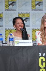 ADRIANNE PALICKI at Orville Panel at Comic-con in San Diego 07/20/2019