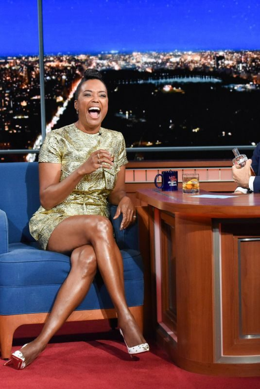 AISHA TYLER at Late Show with Stephen Colbert 07/25/2019