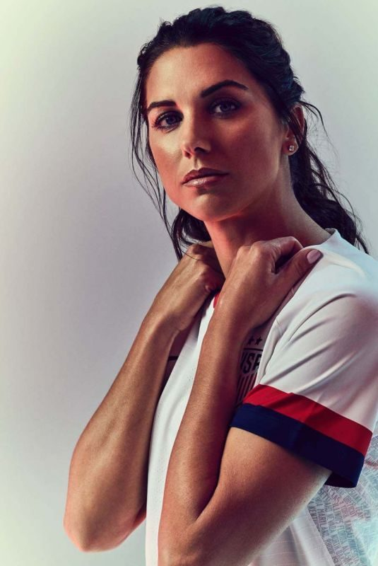 ALEX MORGAN for Eight by Eight, June 2019