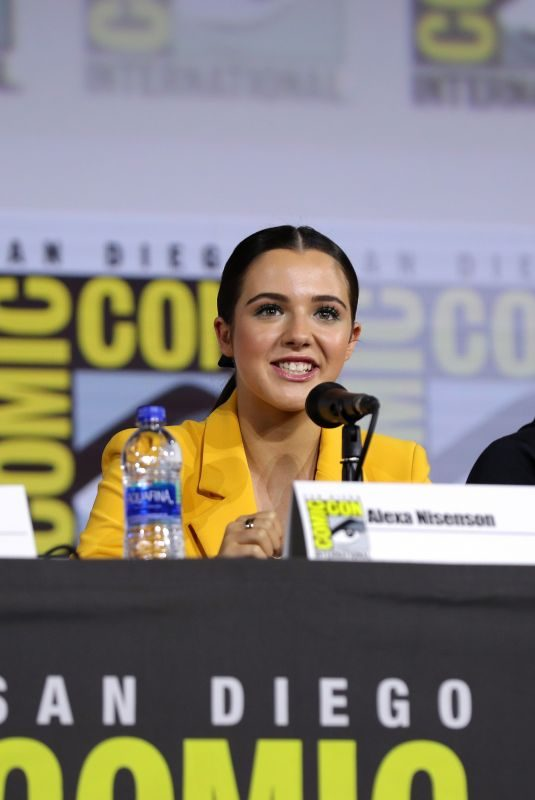 ALEXA NISENSON at Fear the Walking Dead Panel at San Diego Comic-con 07/19/2019