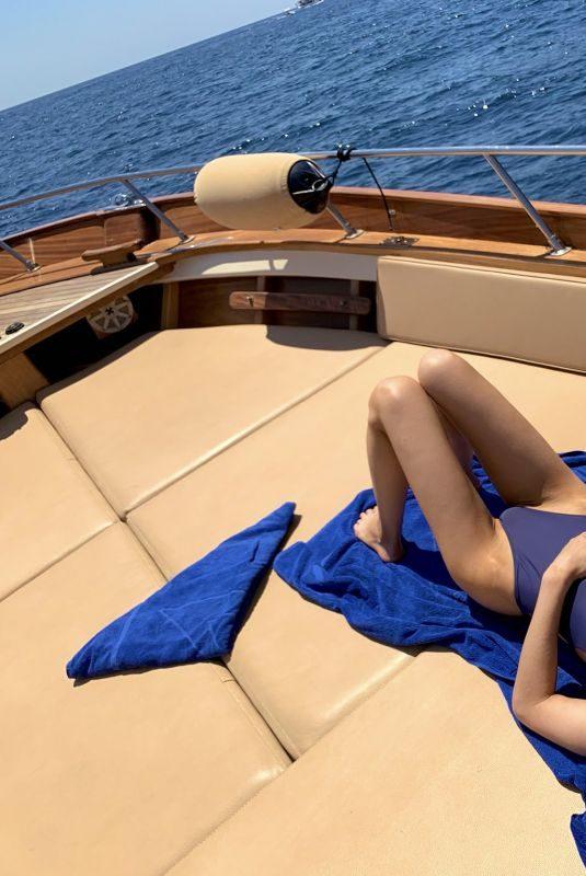 ALEXANDRA DADDARIO in Bikini at a Boat – Instagram Pictures 07/10/2019