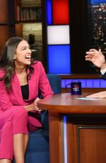 ALEXANDRIA OCASIO-CORTEZ at Late Show with Stephen Colbert 06/26/2019