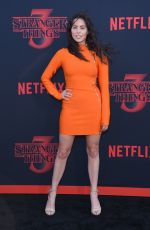ALEXXIS LEMIRE at Stranger Things, Season 3 Premiere in Santa Monica 06/28/2019