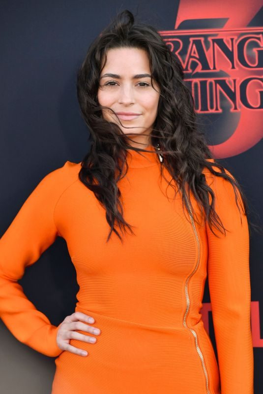 ALEXXIS LEMIRE at Stranger Things, Season 3 Premiere in Santa Monica 06/28/2019