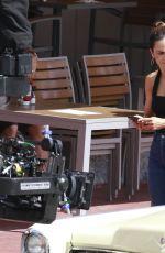 ALICE BRAGA on the Set of Queen of the South, Season 4 in Miami Beach 06/27/2019