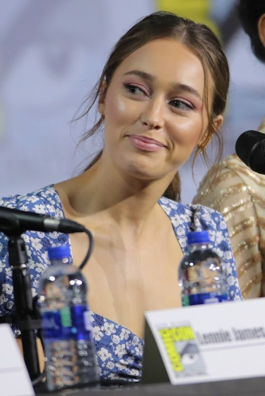 ALYCIA DEBNAM-CAREY at Fear the Walking Dead Panel at San Diego Comic-con 07/19/2019