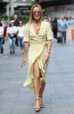 AMANDA HOLDEN leaves Global House in London 07/08/2019