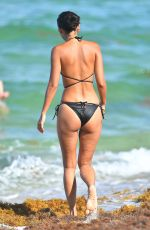 AMBRA GUTIERREZ in Bikini in Miami Beach 07/15/2019
