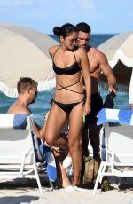 AMBRA GUTIERREZ in Bikini on the Beach in Miami 07/15/2019