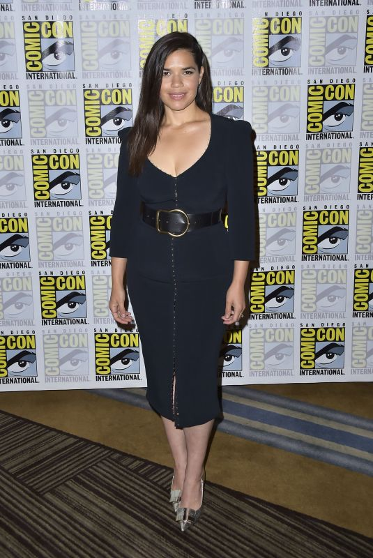 AMERICA FERRERA at Superstore Photocall at San Diego Comic-con 07/18/2019