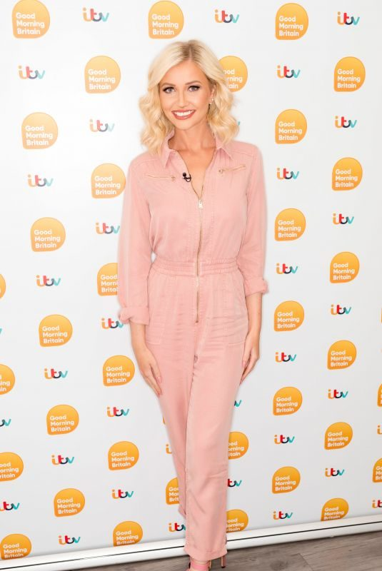 AMY HART at Good Morning Britain Show in London 07/16/2019
