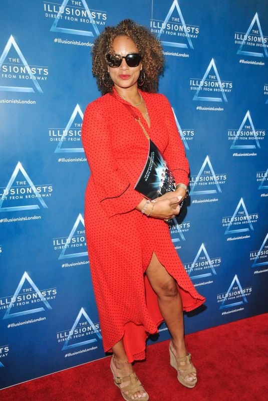 ANGELA GRIFFIN at Illusionists Show Press Night in London 07/10/2019