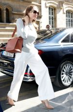 ANGELINA JOLIE Arrives at Hotel de Crillon in Paris 07/09/2019