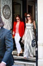 ANGELINA JOLIE Leaves Guerlain Boutique in Paris 07/09/2019