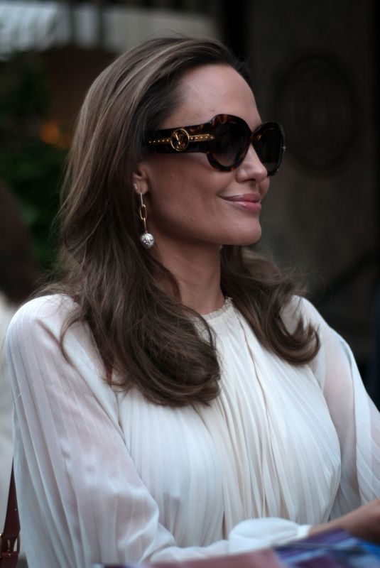 ANGELINA JOLIE Out and About in Paris 07/08/2019