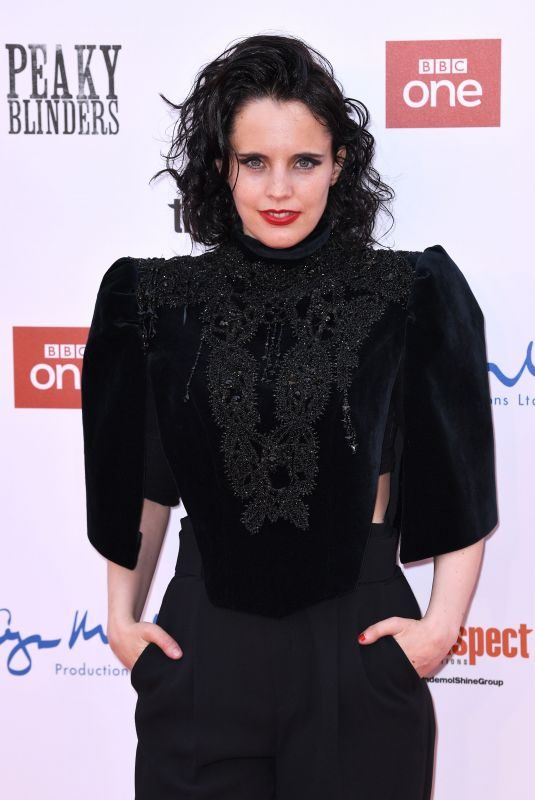 ANNA CALVI at Peaky Blinders Season 5 Premiere in Birmingham 07/18/2019