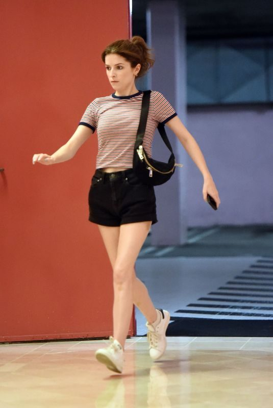 ANNA KENDRICK Out and About in Los Angeles 07/25/2019