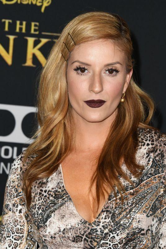 ANNELISE VAN DER POL at The Lion King Premiere in Hollywood 07/09/2019