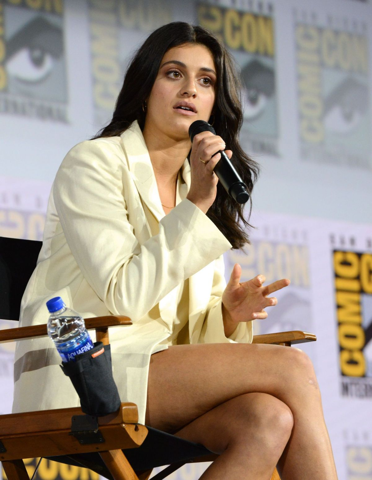 ANYA CHALOTRA at The Witcher Panel at Comic-con in San Diego 07/19/2019 - HawtCelebs