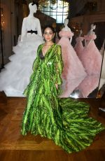ARAYA HARGATE at Giambattista Valli Haute Couture Fall/Winter 2019/2020 Show in Paris 07/01/2019