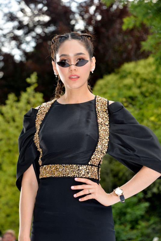 ARAYA HARGATE at Ralph&Russo Haute Couture Show at Paris Fashion Week 07/01/2019