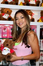 ARIANNY CELESTE at Sugar Factory American Brasserie at Fight Week in Las Vegas 07/05/2019