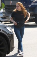 ARIEL WINTER at Nine Zero One Hair Salon in West Hollywood 07/16/2019