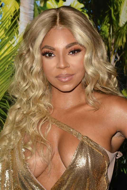 ASHANTI at Ashanti x Prettylittlething Launch Party 06/30/2019