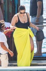 ASHLEY GRAHAM in Swimsuit on Holiday in Nerano 07/23/2019