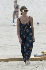 ASHLEY GREENE at a Beach Party in Los Angeles 07/14/2019