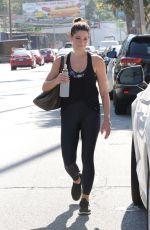 ASHLEY GREENE Leaves a Gym in Studio City 07/06/2019