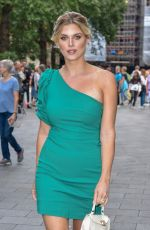ASHLEY JAMES at M&M Block Launch Party in London 07/18/2019