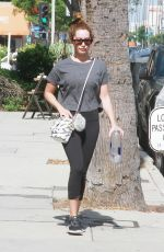 ASHLEY TISDALE Out and About in Studio City 07/07/2019