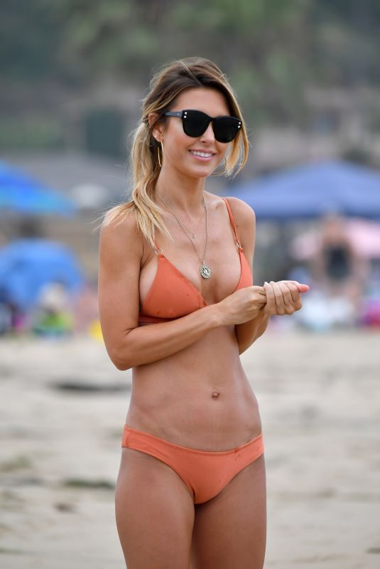 AUDRINA PATRIDGE in Bikini on the Beach in Santa Monica 07/15/2019