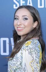 AVA CANTRELL at Sea of Shadows Premiere in Los Angeles 07/10/2019