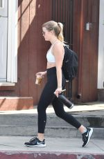 AVA PHILLIPPE Leaves a Gym in Brentwood 07/30/2019