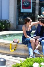 BAILEE MADISON and Blake Richardson Out in Marina Del Rey 07/19/2019