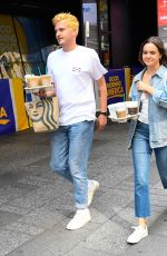 BAILEE MADISON Out forCoffee in New York 07/31/2019