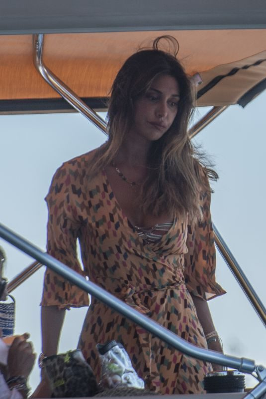BELEN RODRIGUEZ on Vcation in Capri 07/17/2019