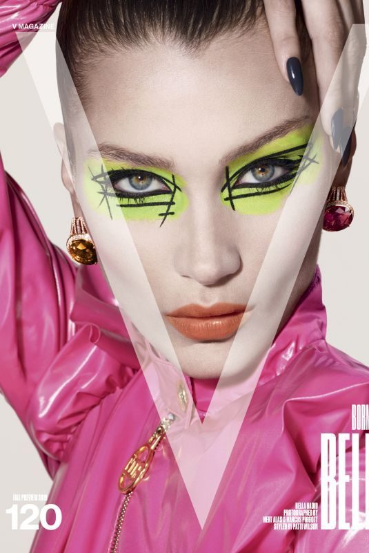 BELLA HADID in V Magazine, Fall 2019 Preview
