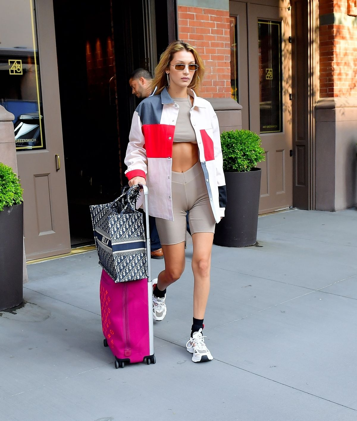 Bella Hadid Leaves Her Apartment In New York 07 25 2019